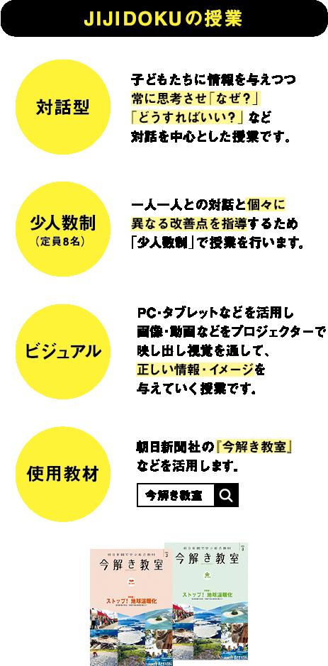JIJIDOKUの授業